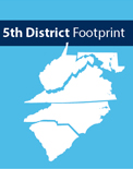 5th District Footprint May 2018