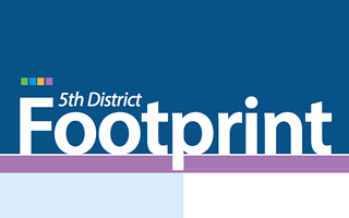 5th District Footprint logo