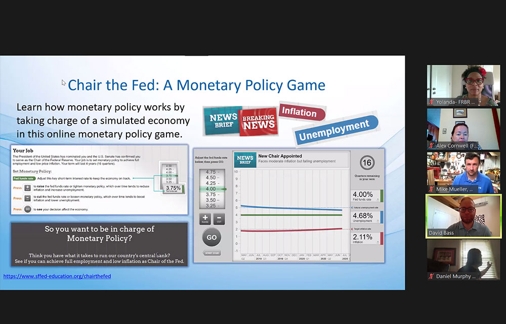 TCC member make monetary policy