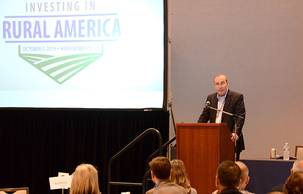 Tom Barkin Speaking at Investing in Rural america