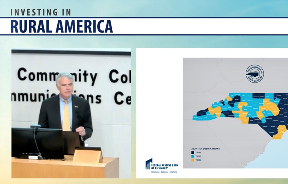 Scott Hamilton talks at Investing in Rural America 2020