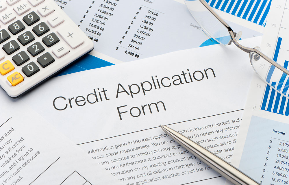 stuff you need when filling out a credit application form